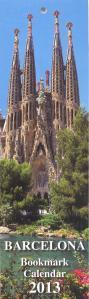 Страны мира -Испания - Календарь закладка