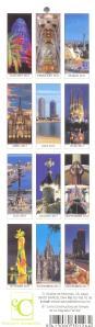 Страны мира -Испания - Календарь закладка-реверс