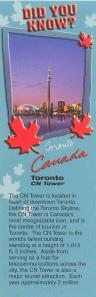 Страны мира -Канада-Торонто аверс